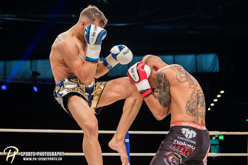 Andy Hug Memorial - K-1 bis 75 kg: Chris Lueber (SUI) vs. Philipp Haefeli (SUI) - Bild-ID: 20170610832