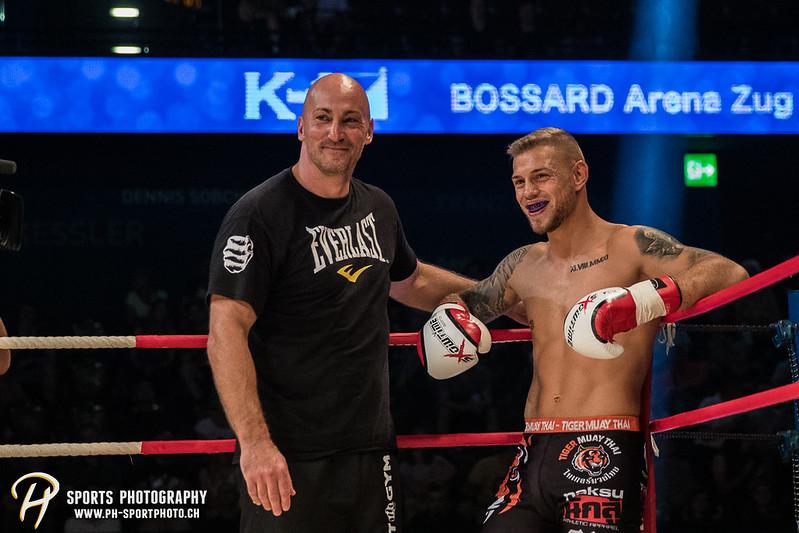Andy Hug Memorial - K-1 bis 75 kg: Chris Lueber (SUI) vs. Philipp Haefeli (SUI) - Bild-ID: 20170610829