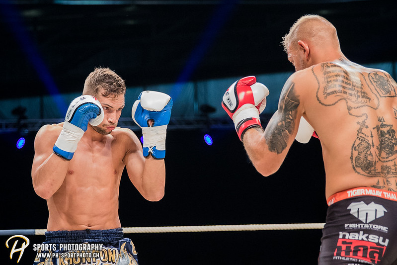 Andy Hug Memorial - K-1 bis 75 kg: Chris Lueber (SUI) vs. Philipp Haefeli (SUI) - Bild-ID: 20170610830