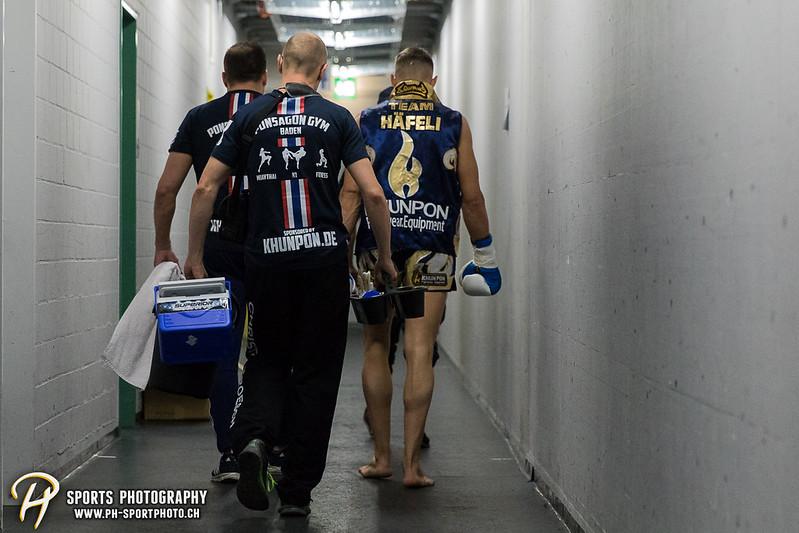 Andy Hug Memorial - K-1 bis 75 kg: Chris Lueber (SUI) vs. Philipp Haefeli (SUI) - Bild-ID: 20170610851