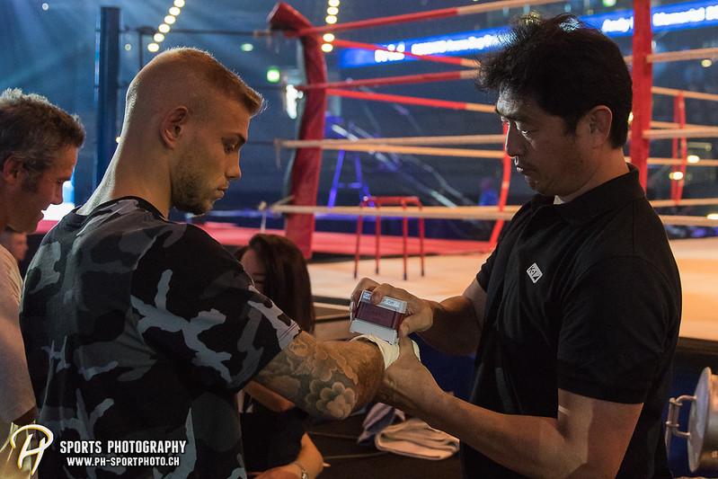 Andy Hug Memorial - K-1 World Light Heavyweight Championship: Janosch Nietlispach (SUI) vs. Petar Majstorovic (SUI) - Bild-ID: 20170610743