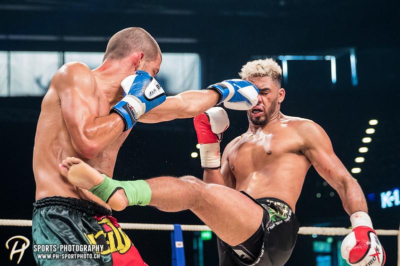 Andy Hug Memorial - K-1 bis 82.5 kg: Dani Traore (GER) vs. Luis Leite (POR) - Bild-ID: 20170610805