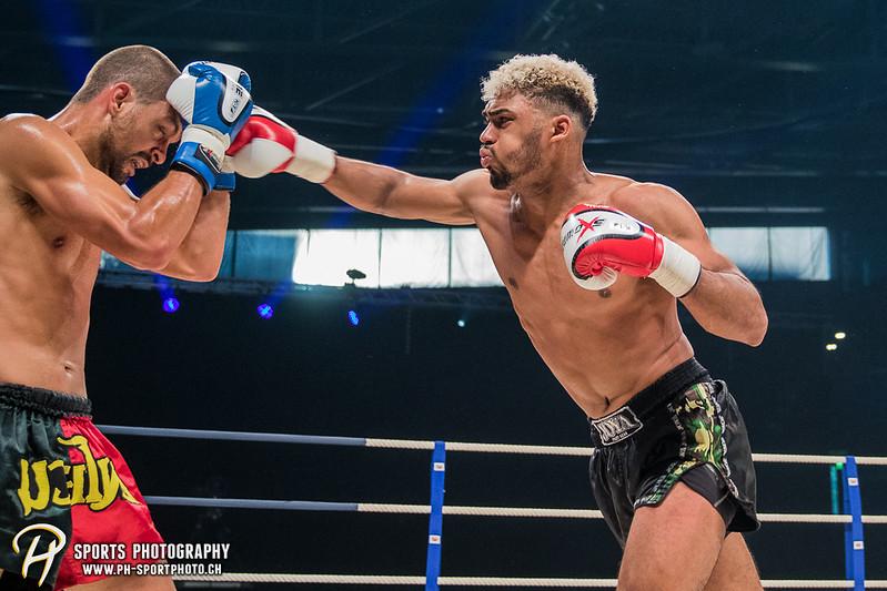 Andy Hug Memorial - K-1 bis 82.5 kg: Dani Traore (GER) vs. Luis Leite (POR) - Bild-ID: 20170610802