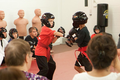 Tyler participated in a sparring tournament and did very well.