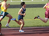 Zach is a competitive runner in the 800 meters.  He looks like a Running Back...
