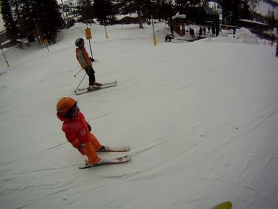Katherine Skiing