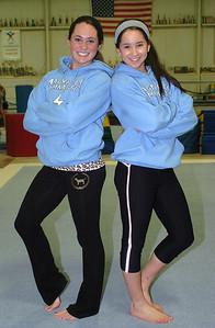 12-14-09 linda murphy  Left) Katie Cooney & (right) Brianna Murnan.
