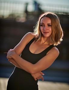 Oct. 19,  2019 - New York, NY   Katya Bryleva captured along NYC's UES  Photographer- Robert Altman Post-production- Robert Altman