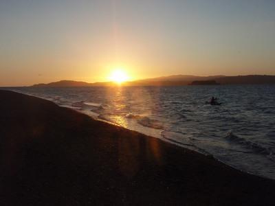 Paddle to Ward Island Dec 2011