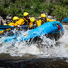 Rafting on the Poudre River, Colorado