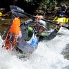 """Mike Patterson of Irving, TN, does his freestyle routine on Sunday during the Lyons Outdoor Games.<br /> For more photos of freestyle kayaking, go to    <a href=""""http://www.dailycamera.com"""">http://www.dailycamera.com</a>.<br /> Cliff Grassmick / June 10, 2012"""