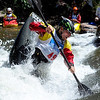 """Mathieu Dumoulin of Lyon, France, does his freestyle routine on Sunday during the Lyons Outdoor Games.<br /> For more photos of freestyle kayaking, go to    <a href=""""http://www.dailycamera.com"""">http://www.dailycamera.com</a>.<br /> Cliff Grassmick / June 10, 2012"""