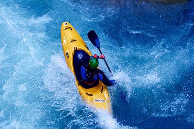 Adidas Sickline whitewater kayak competition 2013.