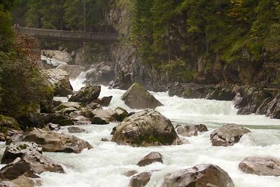 The site of the 2013 Adidas Sickline race, the Wellebrucke rapids in Oetz, Austria.
