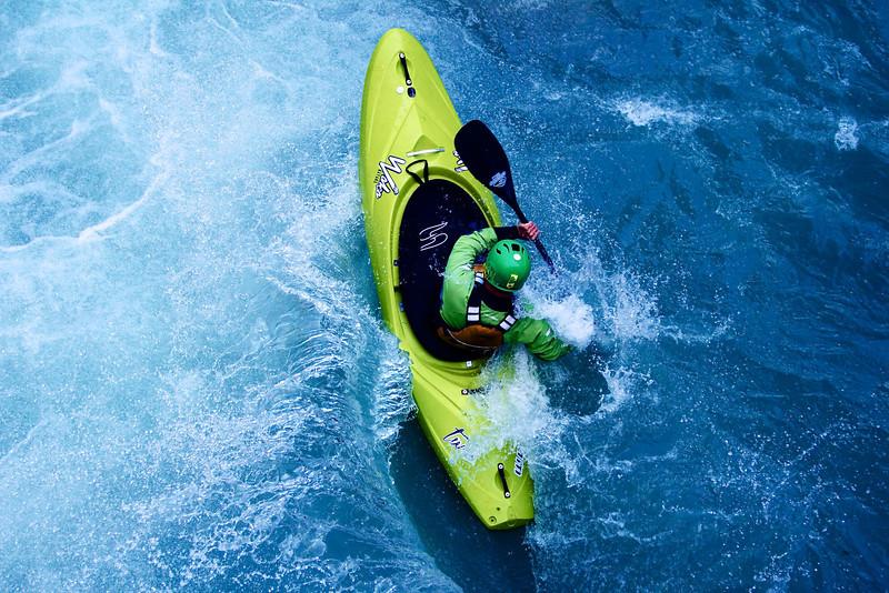 Adidas Sickline whitewater kayak competition 2013.
