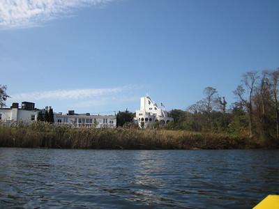 Kayaking off Baycrest Ave, Westhampton, NY.