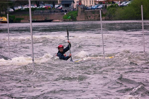Canoe Slalom Symonds Yat 12th April 2014