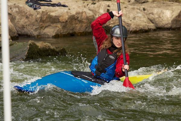 Canoe Slalom at Symonds Yat
