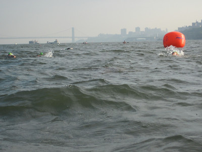 Hudson River Swim Race - September 25, 2010