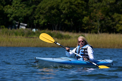 Kayaking with Mom.