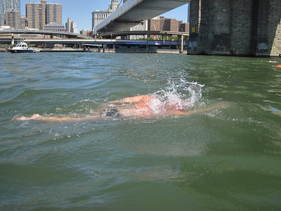Manhattan Island Marathon Swim - June 23, 2012