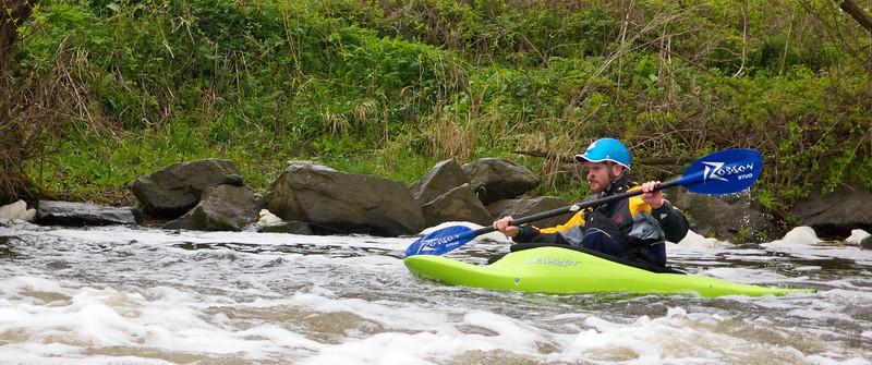 Nafford Weir 7th April 2012