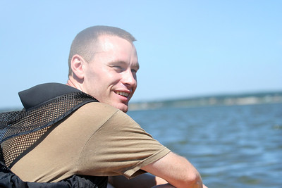 Chris goes kayaking with us for the first time, to Tern Island off Road K, Hampton Bays, NY.