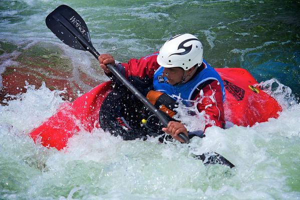 Wyedean Canoe Club Cardiff International White Water 17th July 2011