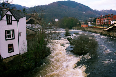 Town Falls in Llangollen.