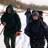 Moving on.  Photo was taken minutes before I broke through ice near beaver lodge.  Falling into icy water is a adrenalin rush you don't want to experience very often.  Temperature?  Somewhere around 10 deg F.