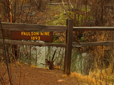 History stop at Paulson mine.   It amazes me how they hauled gear for mining all the way out here.