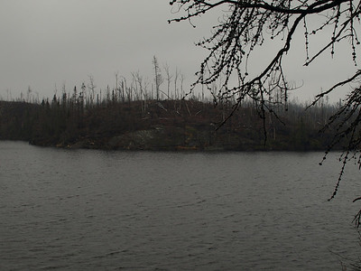 View from north shore of Bingshick Lake.