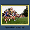 The start of the Peddie School girls cross country meet against George School, Stuart and PDS, in Hightstown, September 16, 2009. Beverly Schaefer/For The Times
