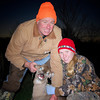 HERE SHE IS WITH HER FIRST DEER I DO NOT KNOW WHO IS PROUDER DADOR DAUGHTER
