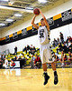 "6'2"" Kennett Eagle Junior Matt Lautenschlager takes an open jumpshot early in the January 12th game vs. Berlin High Mountaineers, held at Kennett High in Redstone. Berlin came out on top 66-48."