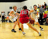 The Kennett High Eagles girls basketball team, defeated the visiting Berlin High School Mountaineers, 60-28, on January 20th, 2010.