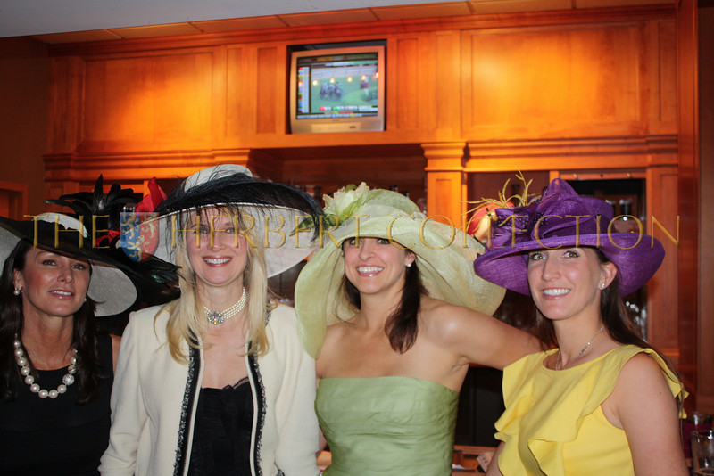 Carol Bader (hat designer), Sara Herbert-Galloway, Diane Schoen, and Maja Langbein