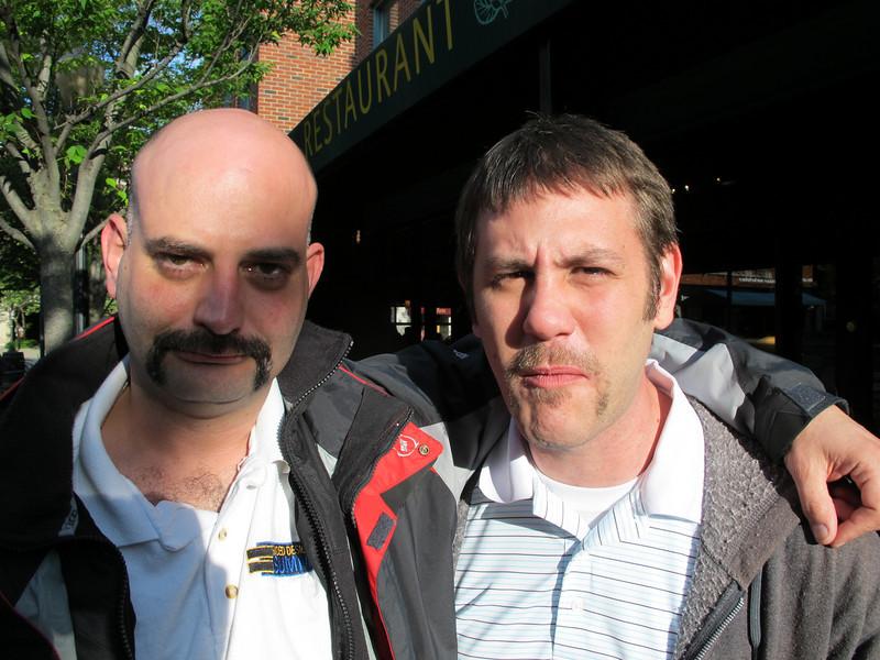 Nobody rocking the moustache as hard as I am. Shocking.