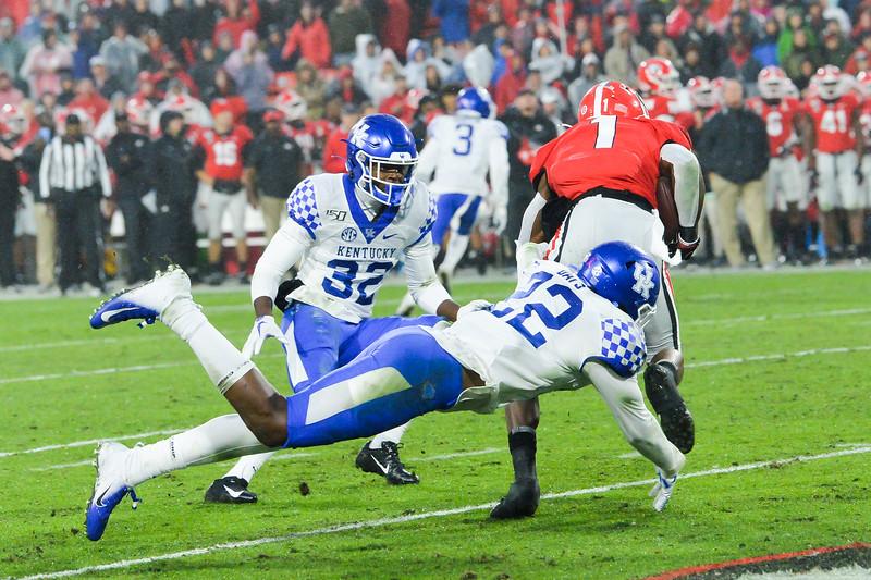 Scenes from the University of Georgia vs. University of Kentucky game  Saturday, October 19, 2019 at Sanford Stadium in Athens, Georgia. (Photo: Nicole Seitz)