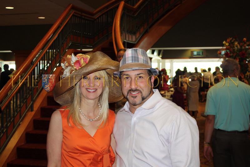 Sara Herbert-Galloway and Joey Fatone