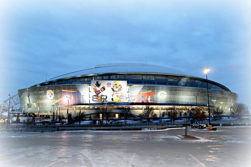 Super Bowl XLV - Cowboys Stadium