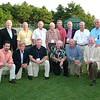 "2009 ""Gala Tribute to Arnold Former Players Picture<br /> July 22, 2009 - Lowell Park, Cotuit, MA<br /> <br /> Kneeling:<br /> Lou Merloni '92, Wade Staniar '57-'58, Tom Kelly '65-'67, Bob Butkus '61-'65, Tony Capo '61-'63, Bernie Kilroy '60-'65<br /> <br /> Standing:<br /> Ken Hill '67, Paul O'Neill '74-'75, Stan Sikorsky '60-'63, Arnold Mycock GM '50-'94, Jack McCarthy '61-'64 & '70-'78, Jim Hubbard '59-'69, John Germani '54, Connie Denault '63-'65"