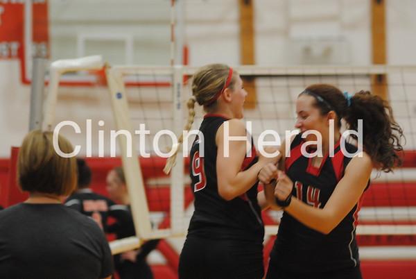 Kewanee at Fulton volleyball — Sept. 22, 2015