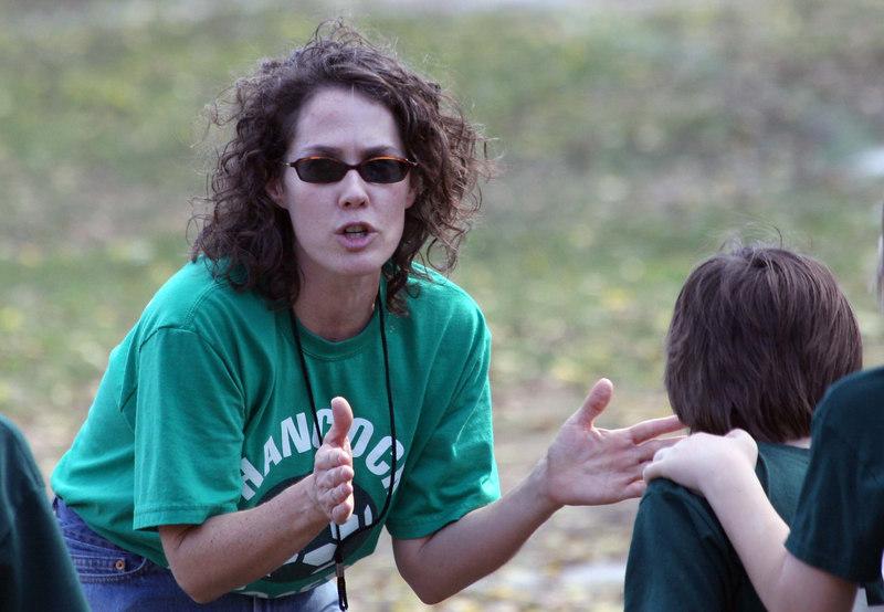 Coach Holly coaching