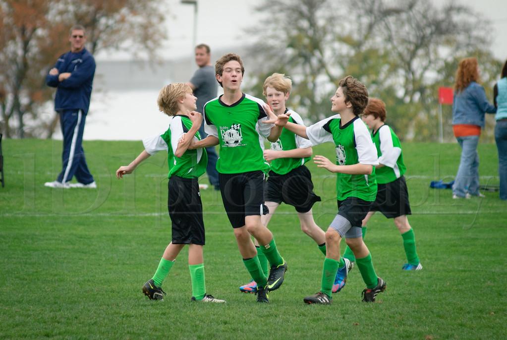 Green Machine 10/27/2012 Tournament Game 1