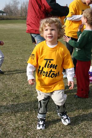 Kieran's First Soccer Game