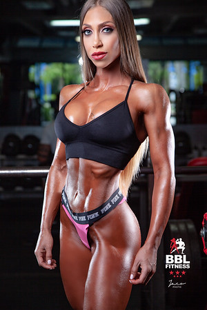 Kim Marti at Gym