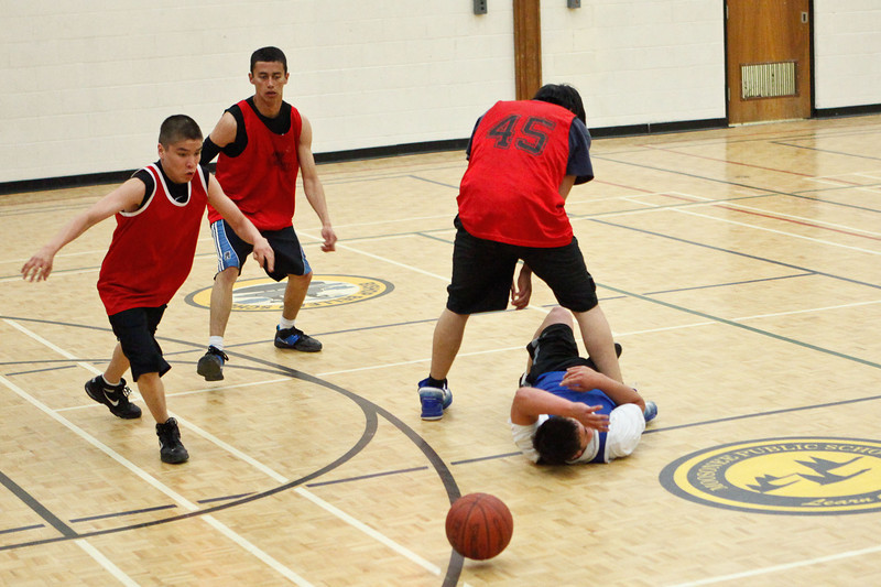 King's Court Youth Basketball Tournament 2011 May 22nd in Moosonee, Ontario.