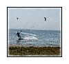 Kite boarding in Tampa Bay