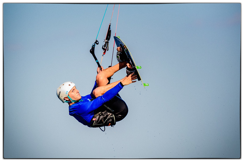 Kiteboarding in Kingston
